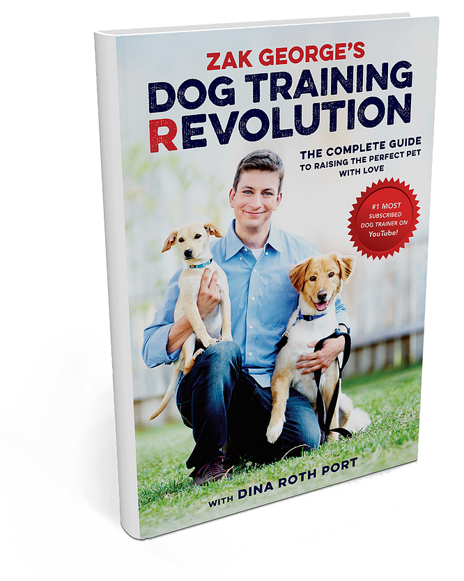 Dog Training Revolution Book by Zak George and Dina Roth Port
